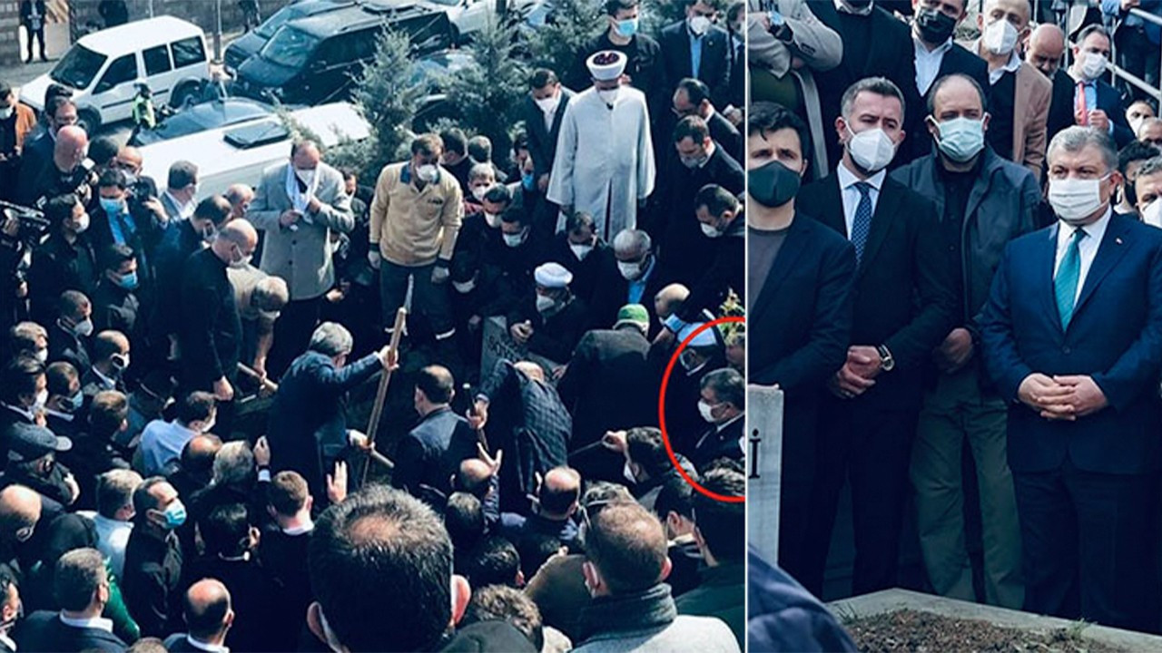 Turkish Health Minister attends funeral in secret after apologizing for crowds at previous funeral