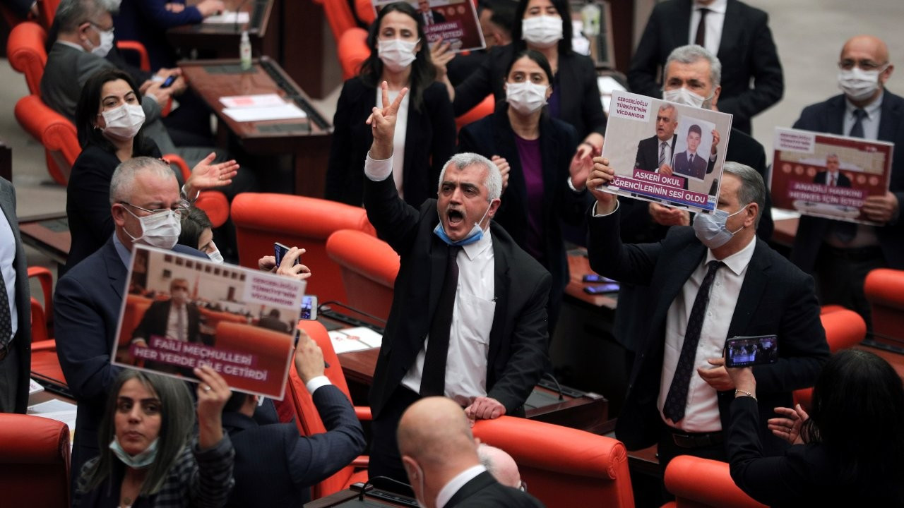 Turkish parliament strips HDP deputy Gergerlioğlu of MP status