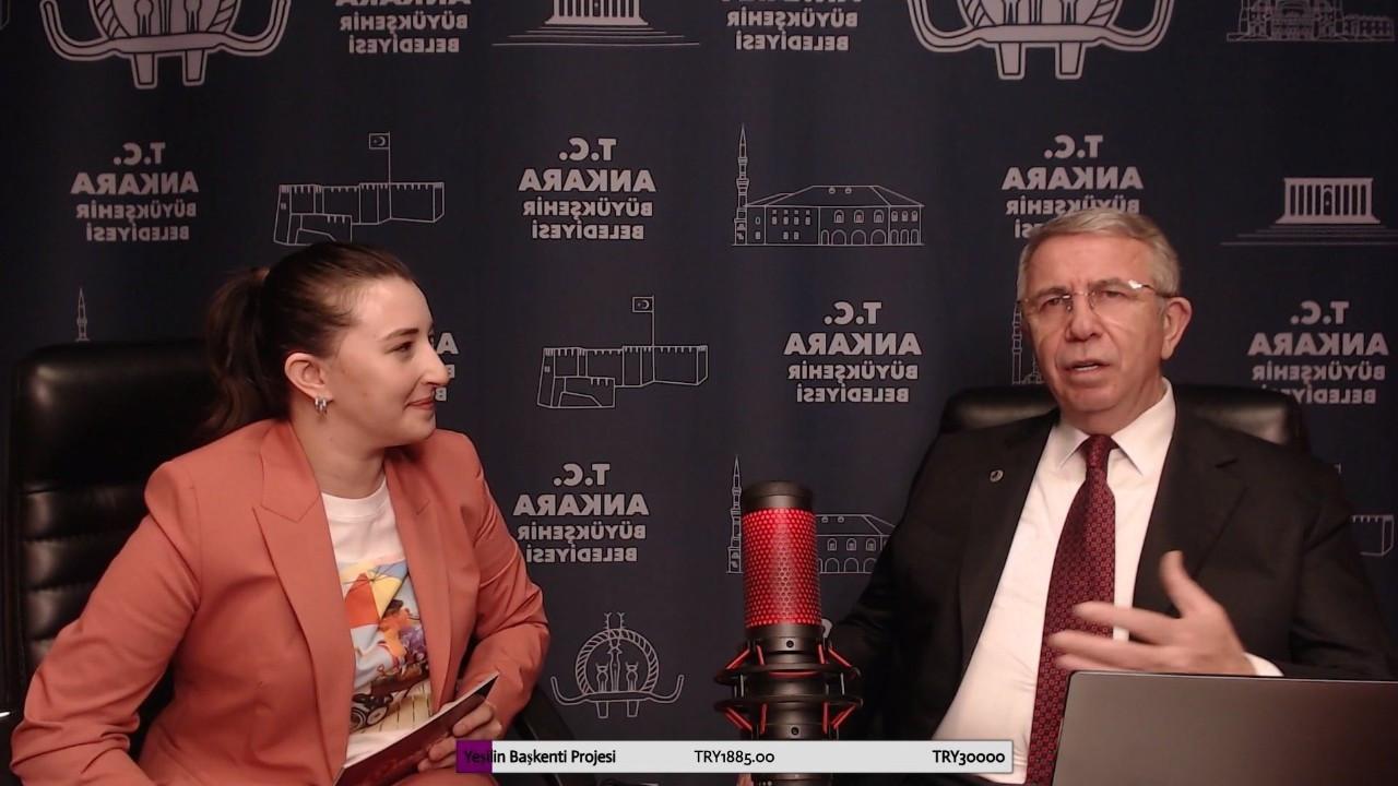 Ankara Mayor Yavaş breaks national viewing record on Twitch broadcast