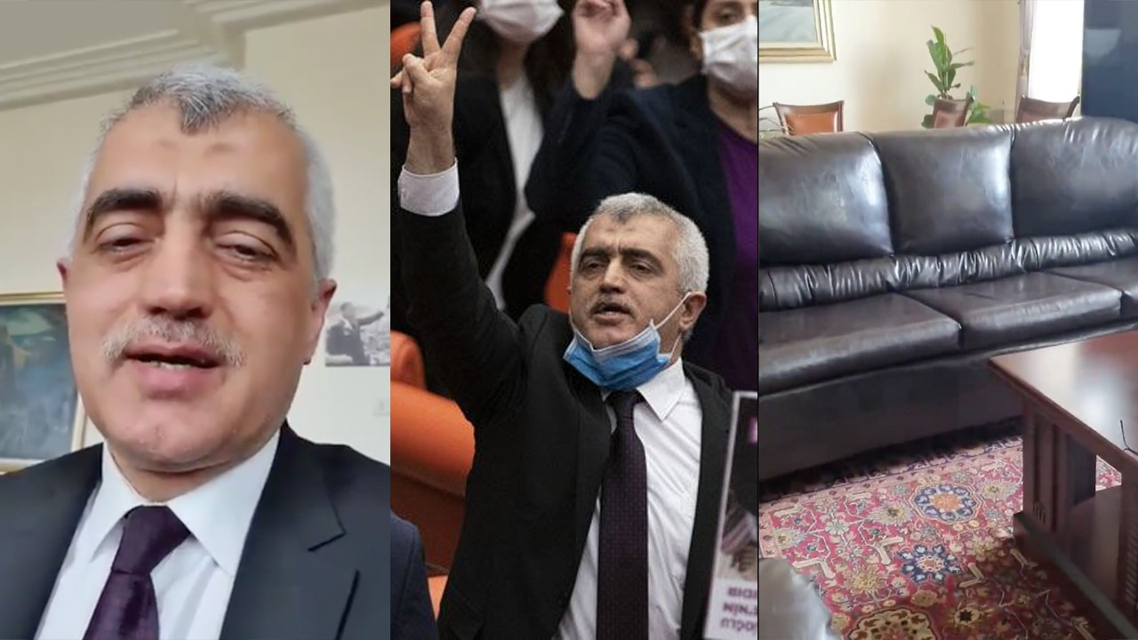 Ousted HDP MP Gergerlioğlu spends night on couch in parliament, continues his resistance