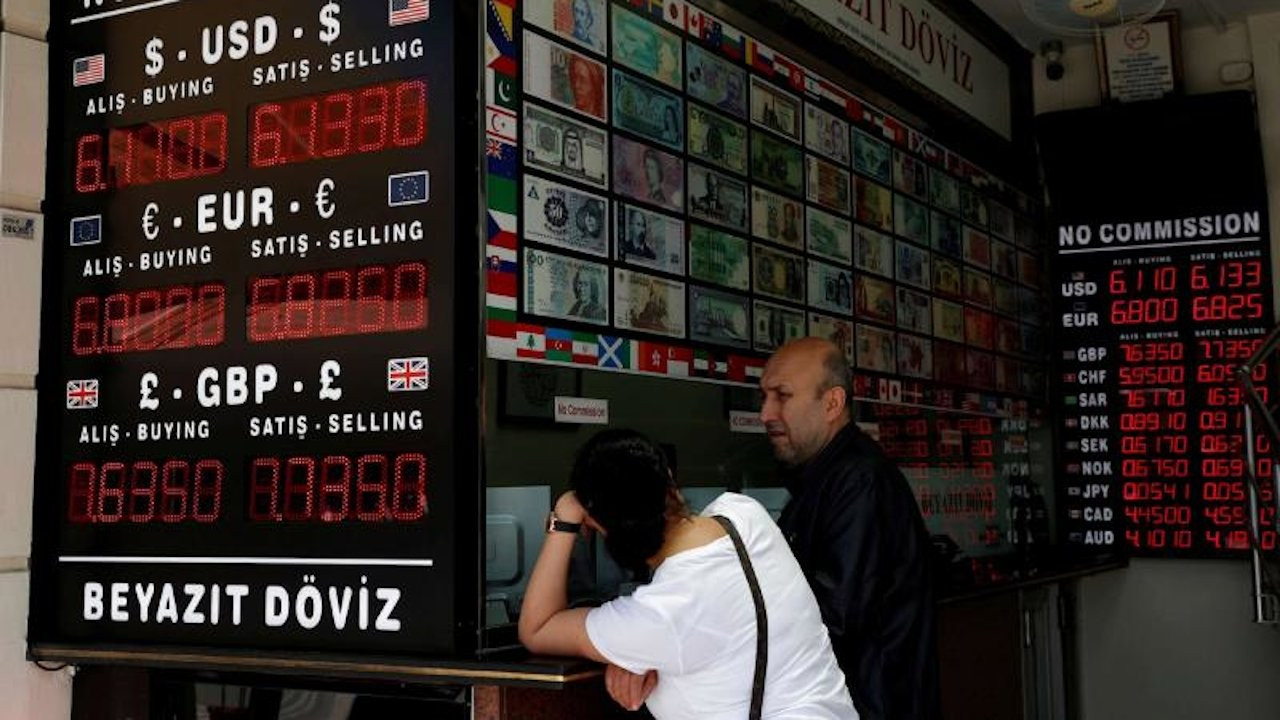 Turkish lira plunges to near record lows on cenbank chief's sacking