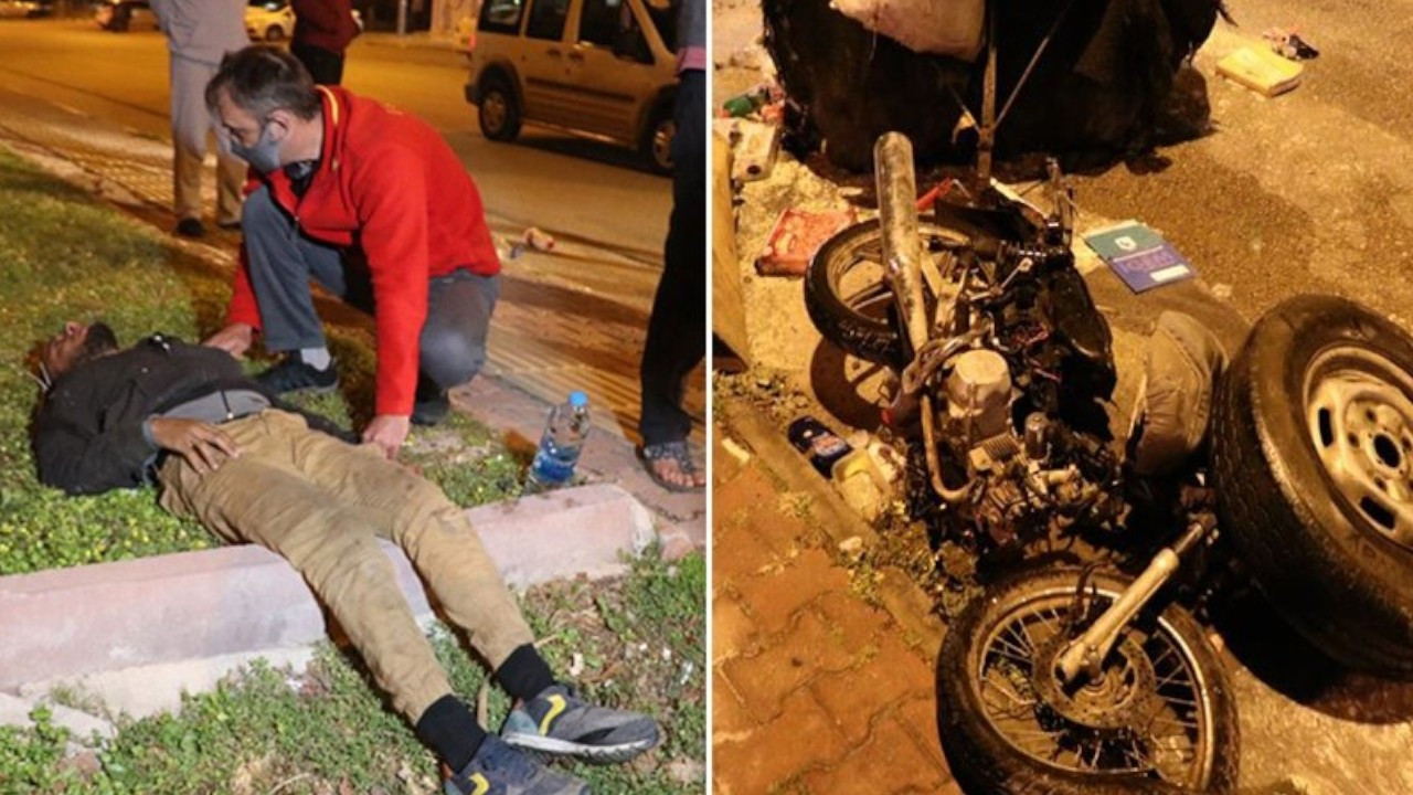 Assailants batter Syrian paper collector, put his motorcycle on fire in Antalya