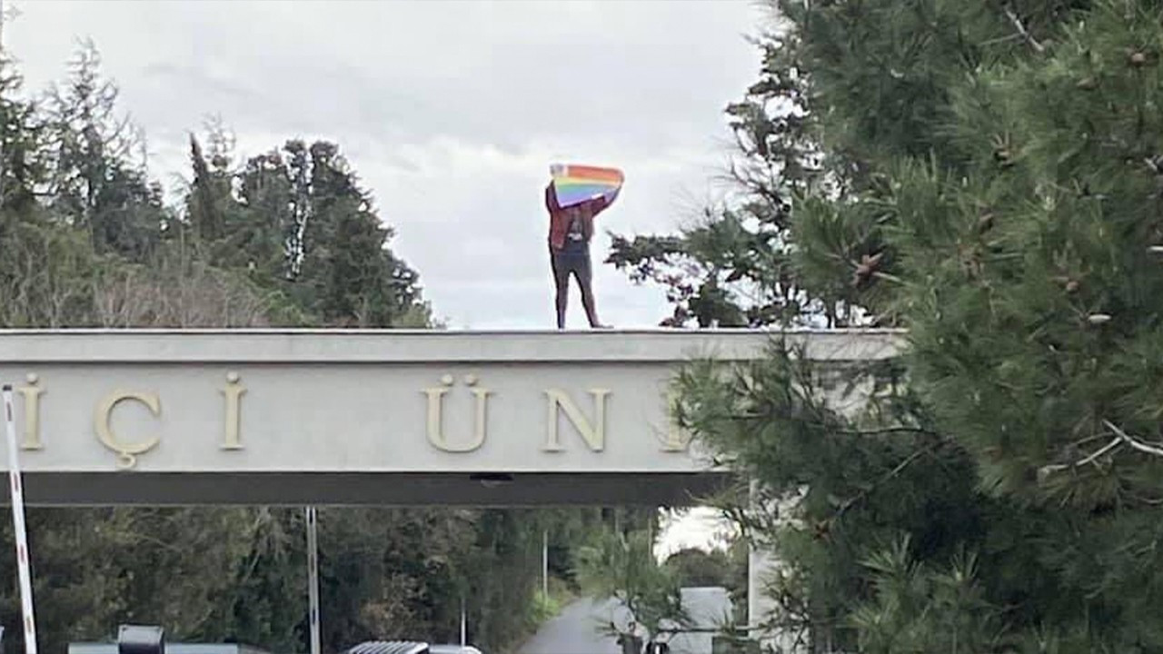 Police detain Boğaziçi University students for carrying pride flags