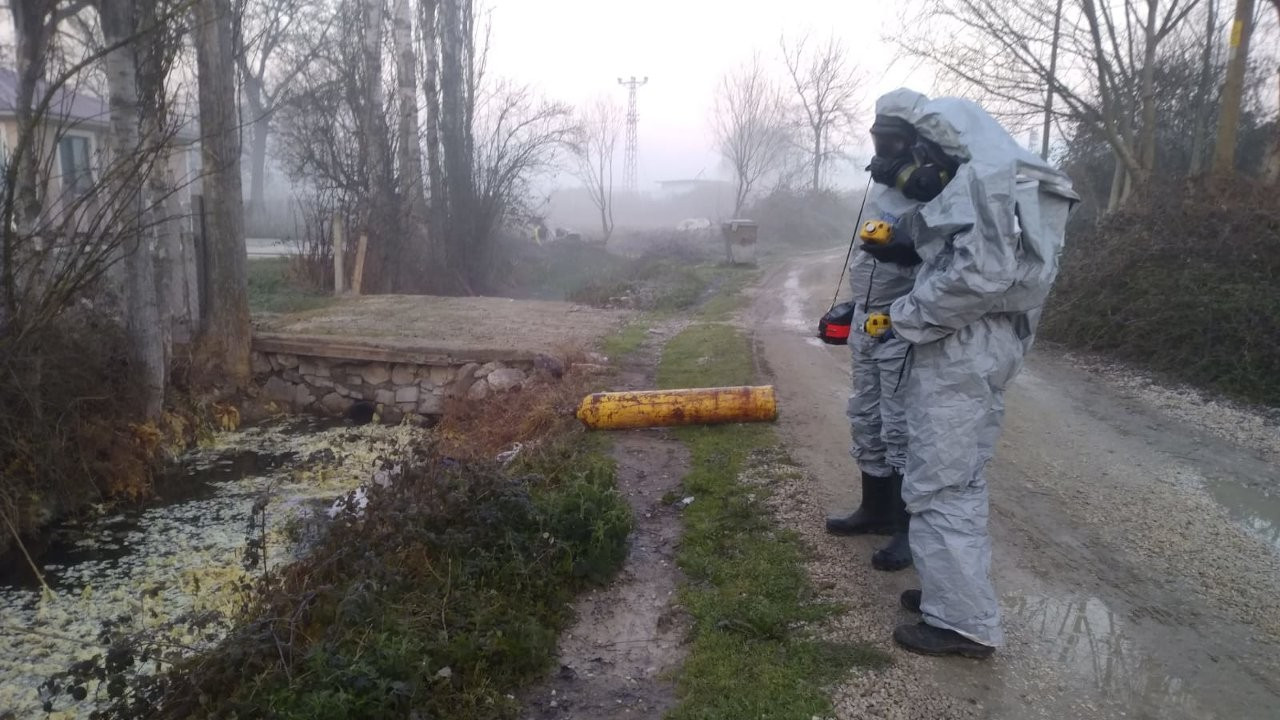 Over 10 hospitalized due to chemical gas leak in northwestern Turkey