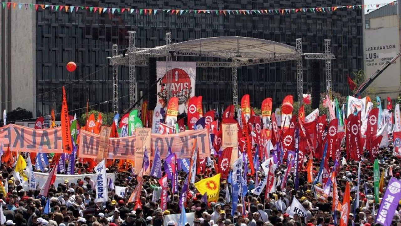 Workers call on Ankara to permit May 1 meeting, citing packed AKP congress