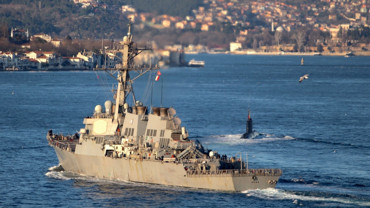 US sending two warships to Black Sea amid Montreux Convention debate