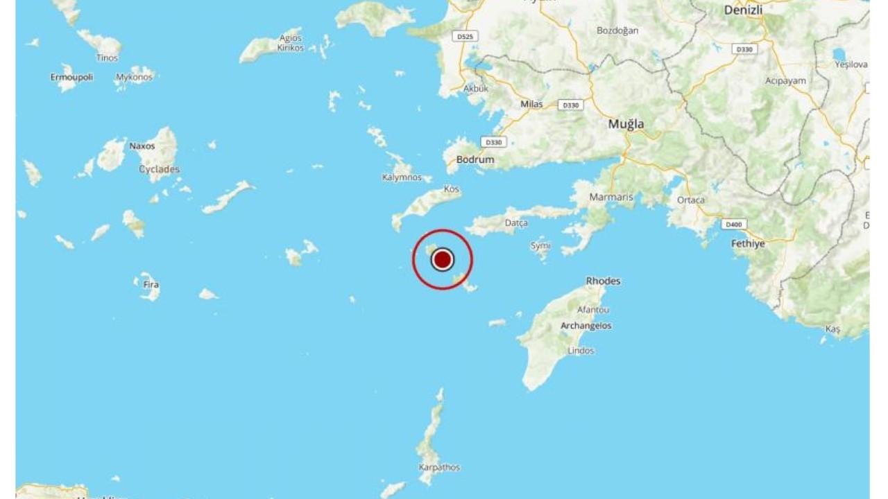Magnitude 5.1 earthquake strikes off Aegean coast near Muğla