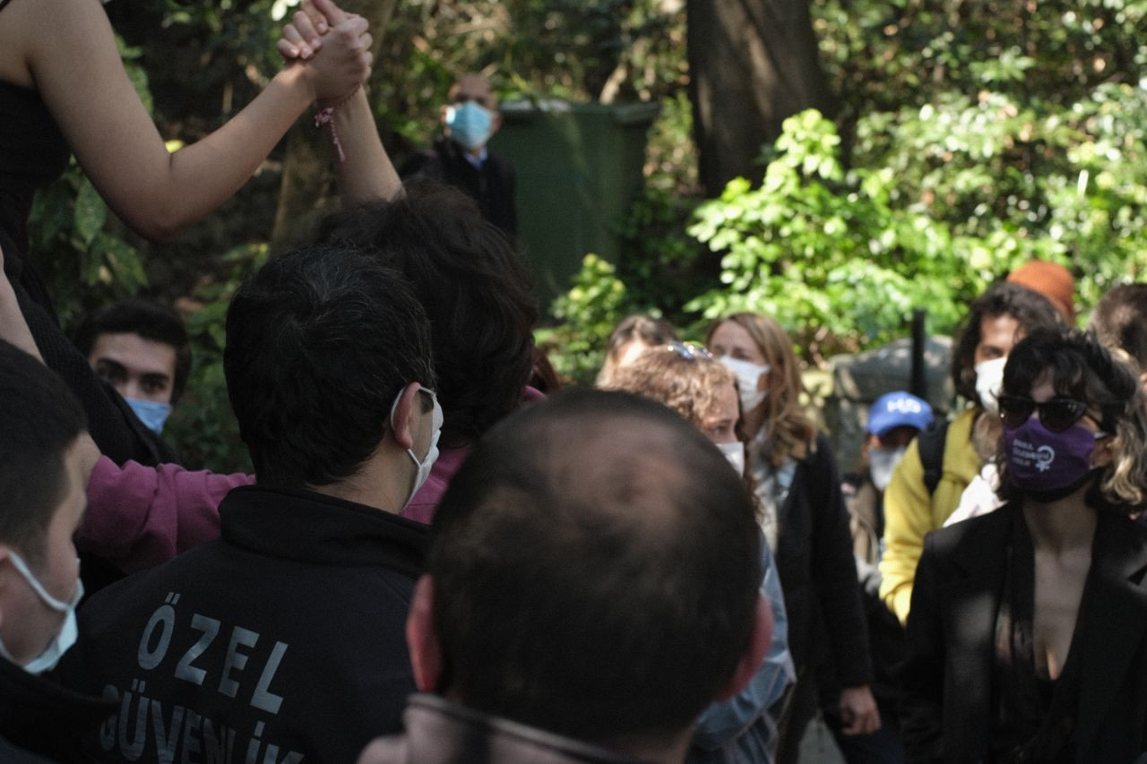 Boğaziçi community marks 100th day of protests against Erdoğan's rector appointment - Page 3