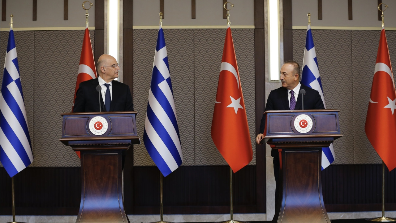 War of words breaks out during press conference between Turkish, Greek foreign ministers