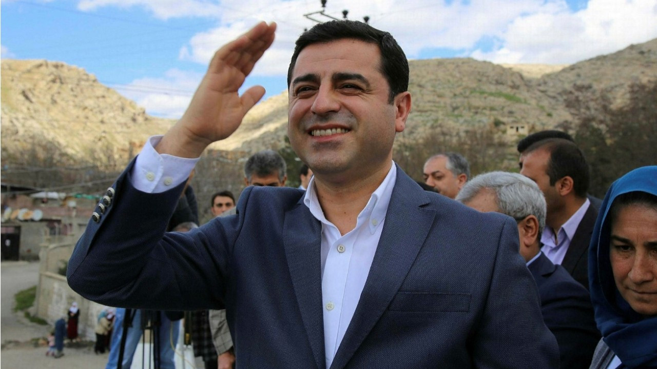 'Secret witness statements form basis of Kobane file against Demirtaş'