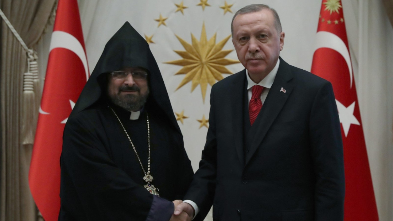 Erdoğan sends letter to Armenian Patriarch, offers condolences over 1915 massacre