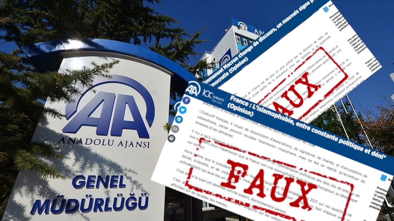 Turkish state-run news agency is a propaganda outlet: French committee