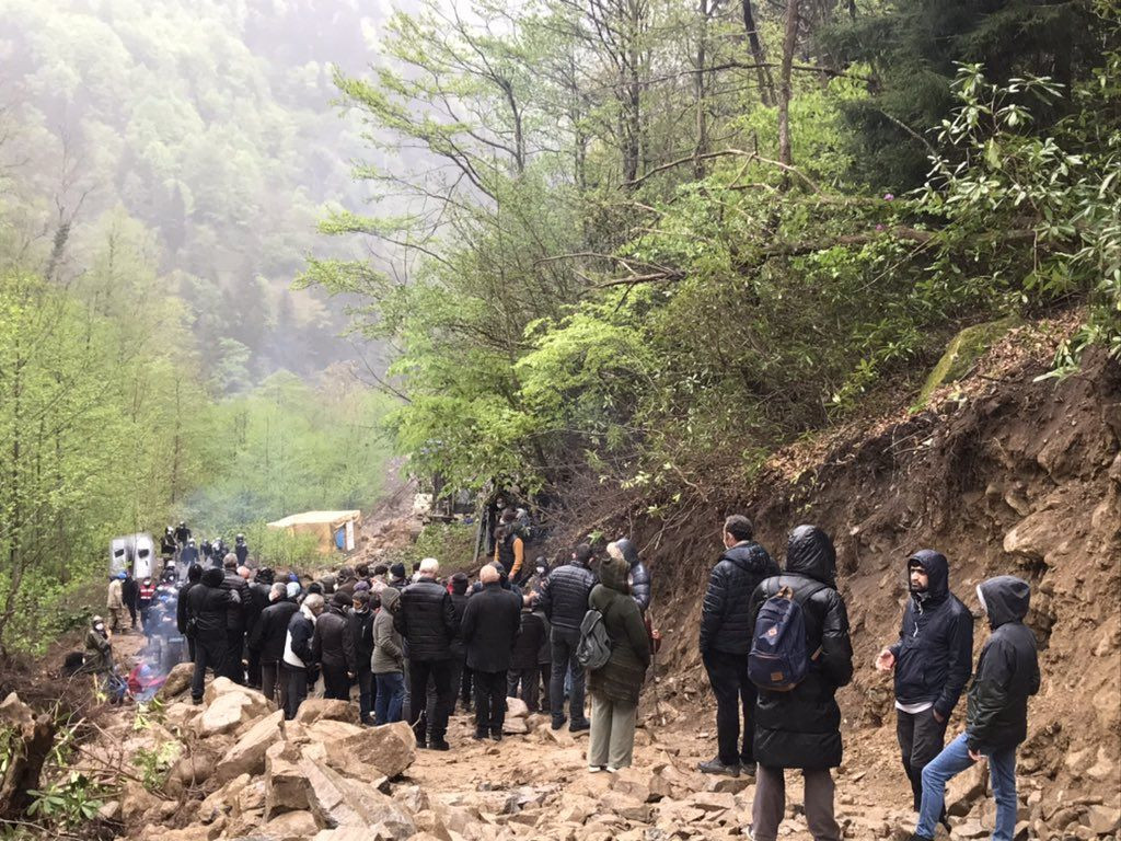 Locals near a week of resistance against quarry construction in Turkey's Rize - Page 3