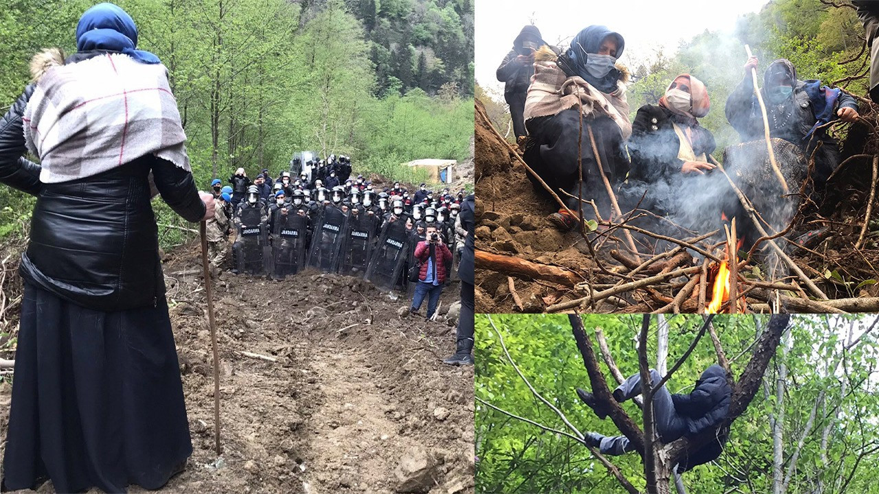 Locals near a week of resistance against quarry construction in Rize