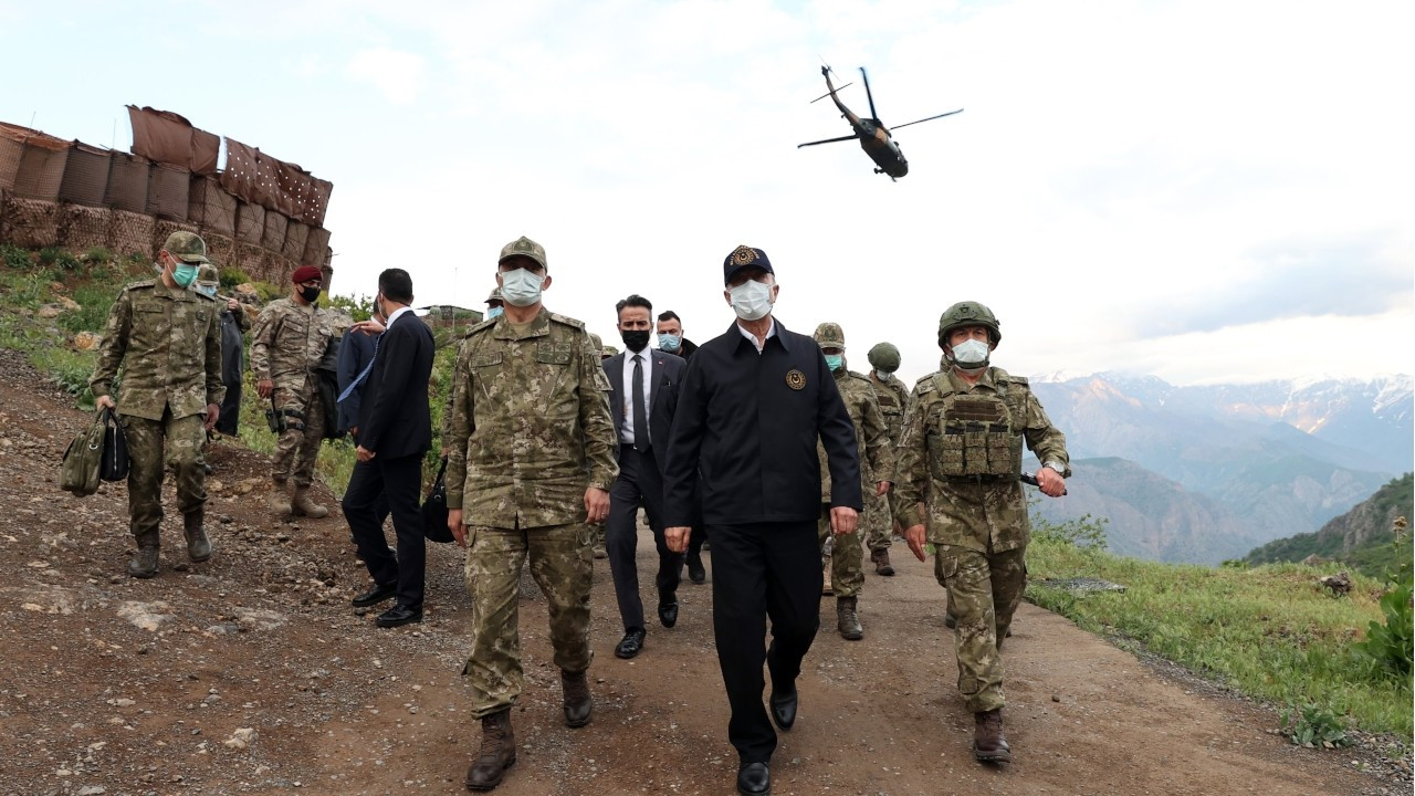 Iraq protests Akar's visit to military base in Kurdistan Region