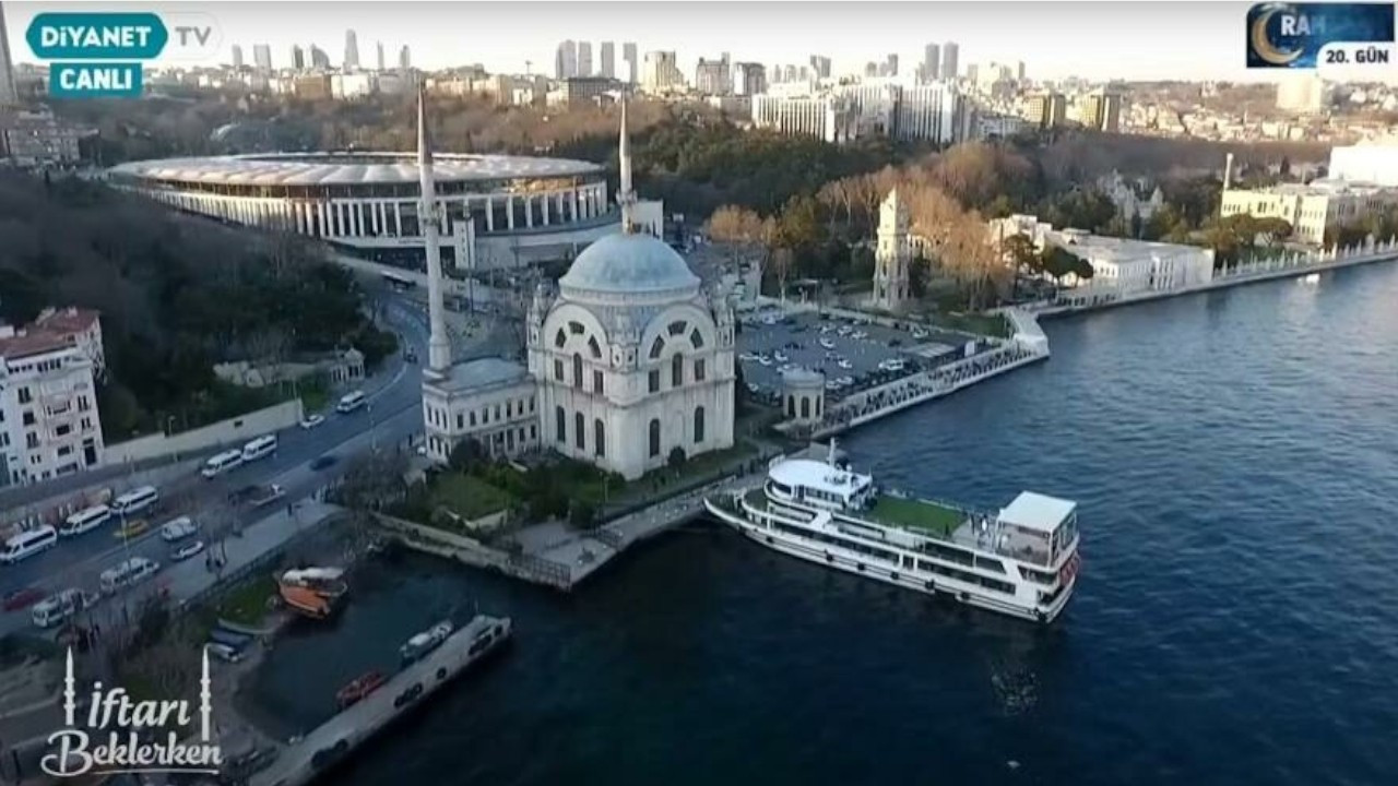Diyanet rented luxury boat for 35k liras a day for Ramadan broadcasts