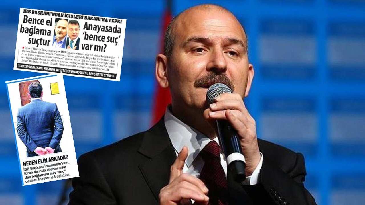 Soylu targets two newspapers, says they have 'sick mentality'