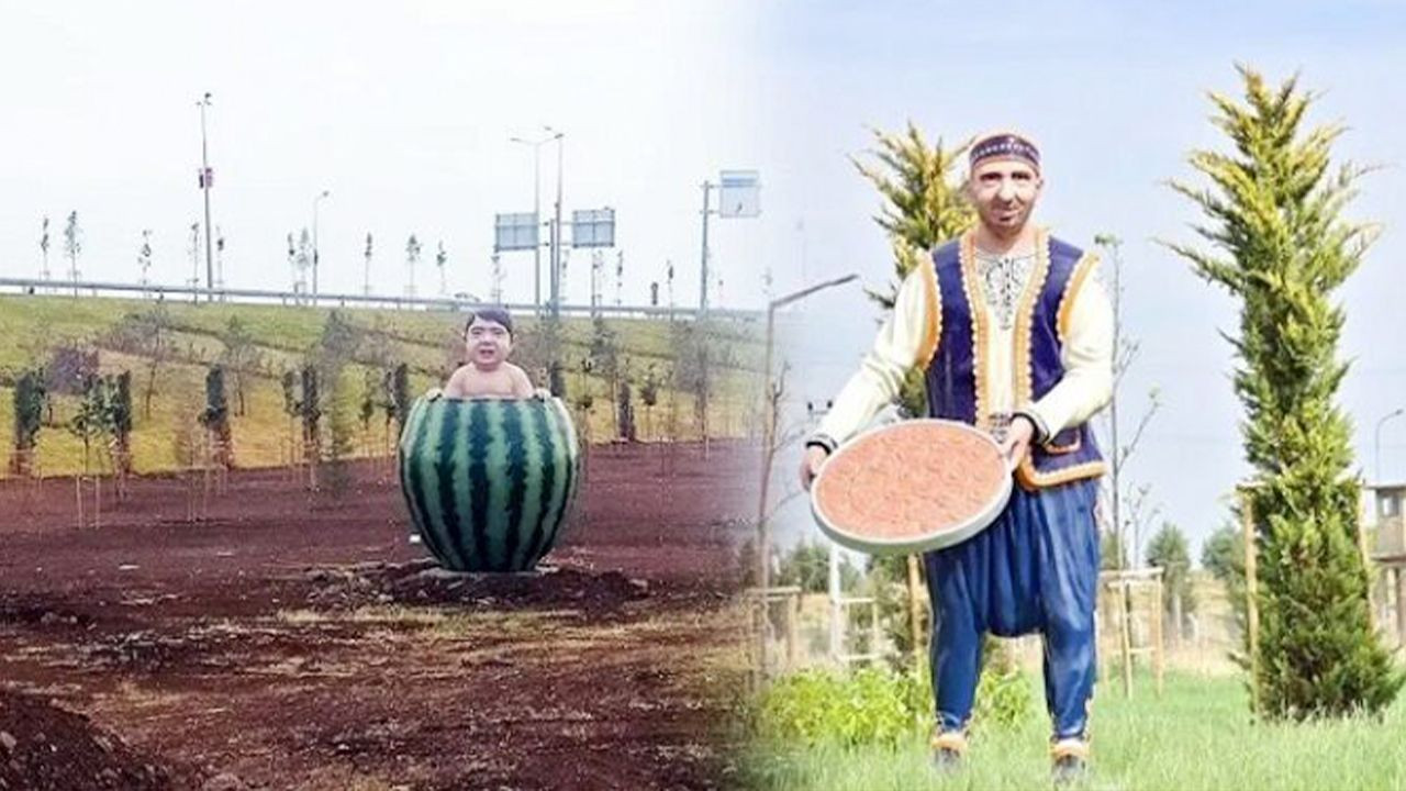 Watermelon baby statue in Diyarbakır joins Turkey's bizarre artworks - Page 4