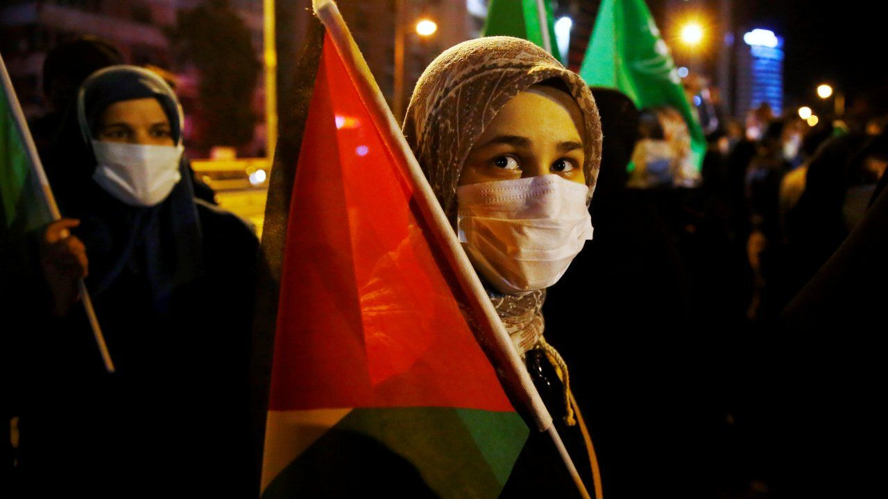 Thousands of Turks protest Israel after Gaza, Al-Aqsa attacks - Page 4