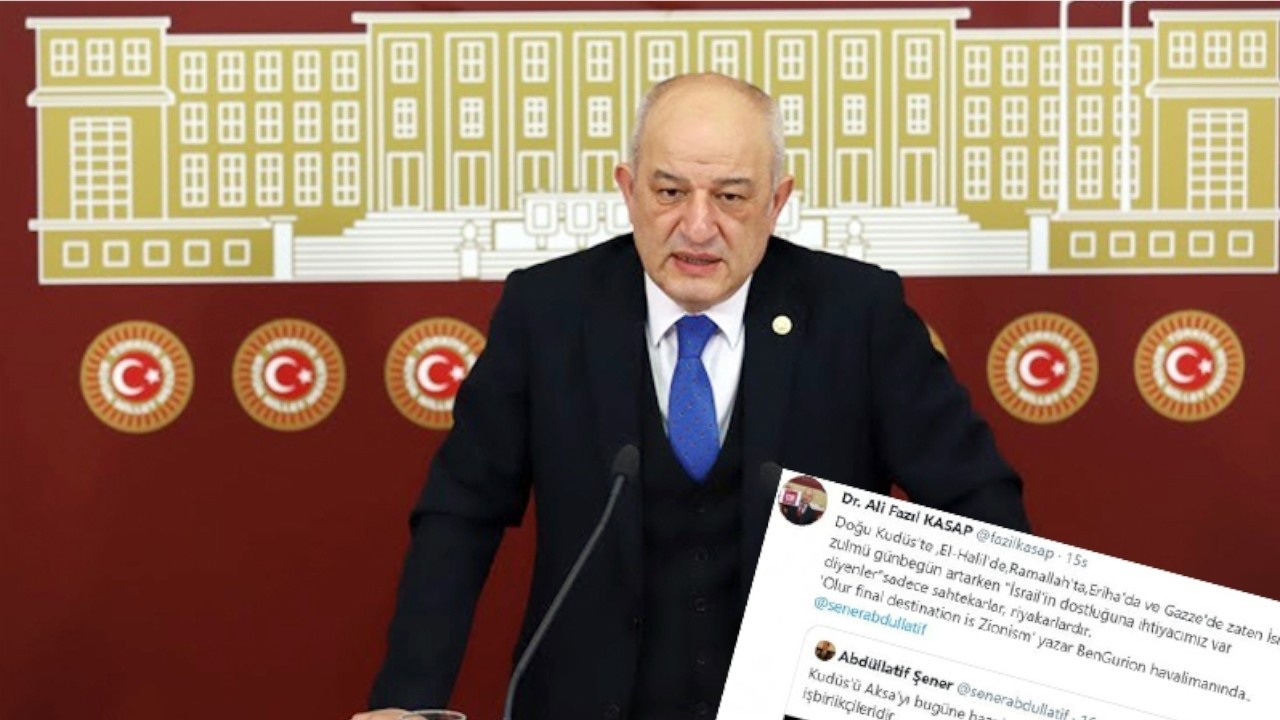 MP's Twitter account suspended following criticism of Erdoğan, Israel