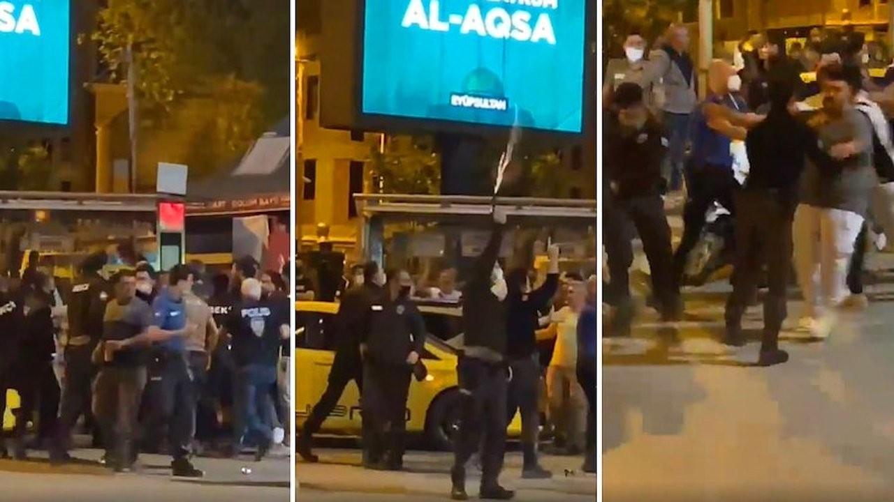 Turkish watchmen batter celebrating football fans, fire guns into air