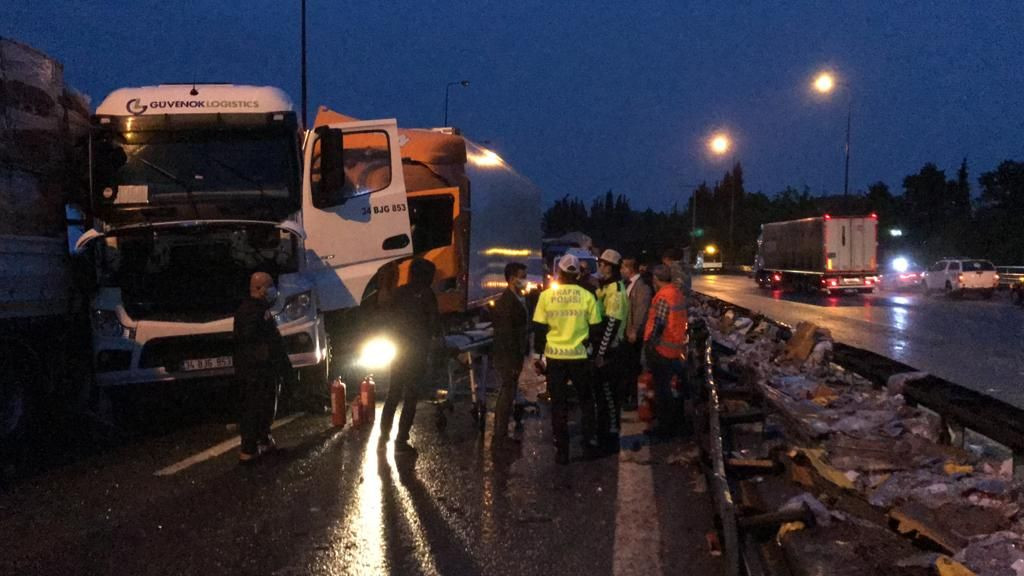 Dozens injured in 24-car pileup on western Turkey highway - Page 2