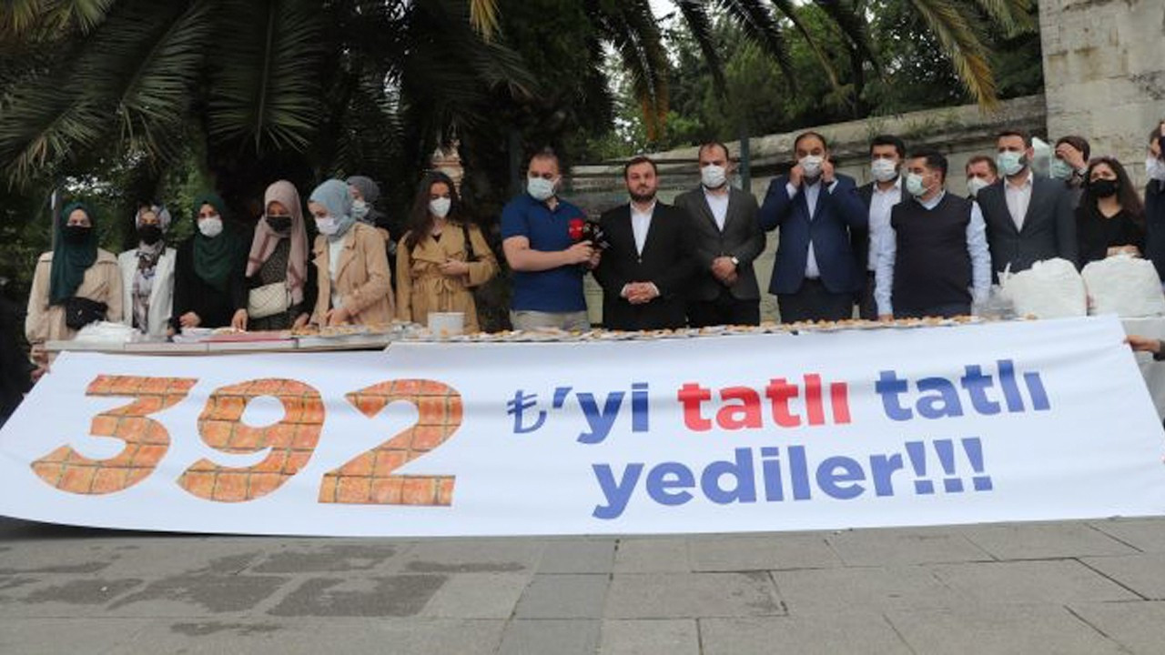 AKP youth accuses Istanbul Municipality of corruption for 392 liras