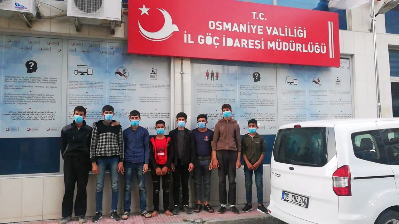Turkish police save Syrian refugees forced into slavery - Page 1