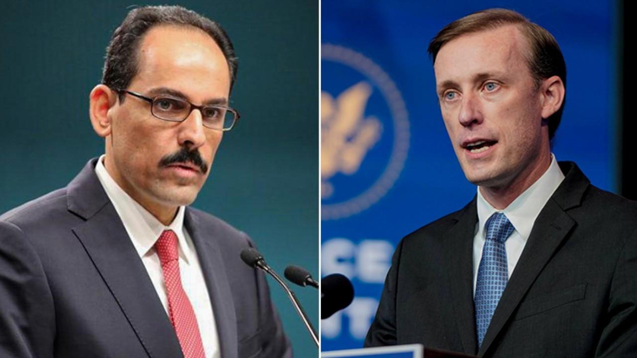Turkey, US security advisers talk ahead of Erdoğan-Biden meeting