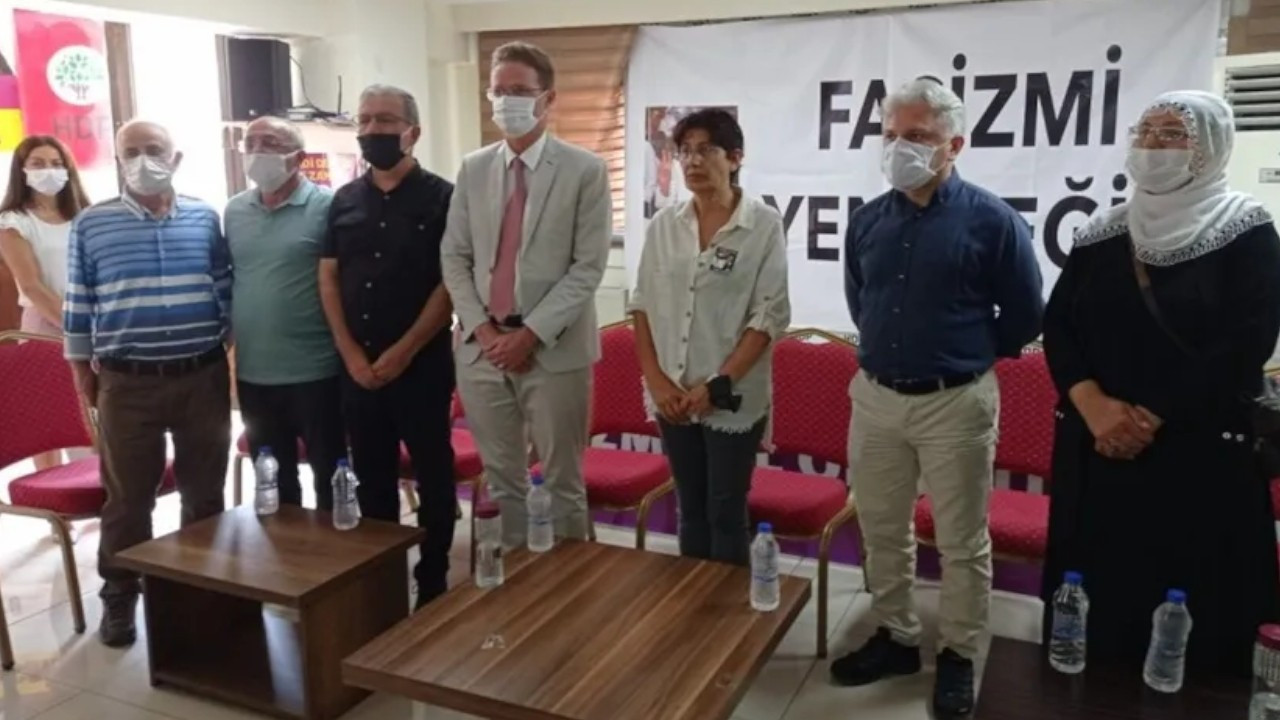 EU envoy to Turkey visits HDP's İzmir office following attack