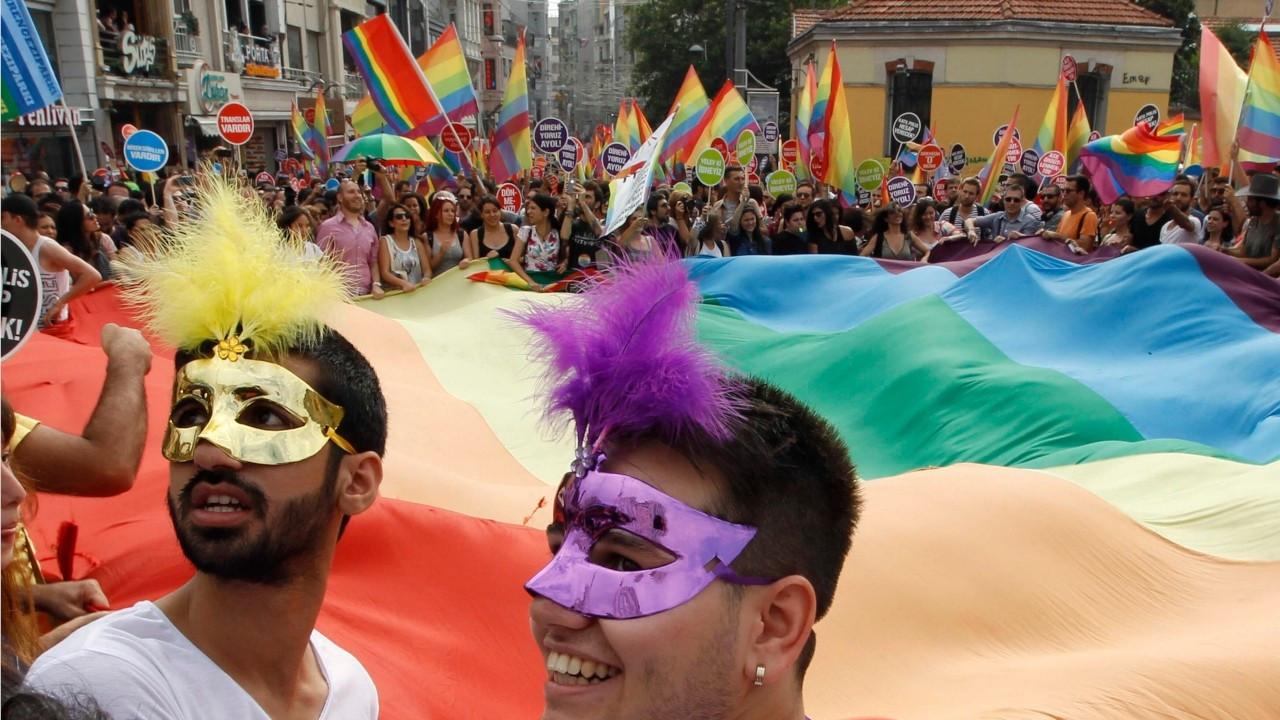 Music fans, unite under the rainbow flag!