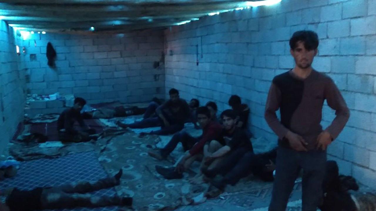 Human traffickers keep migrants in empty barns in Turkey's Van