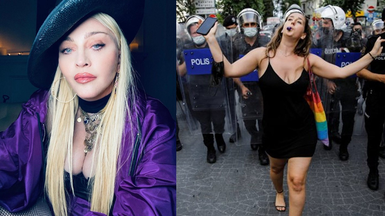 Madonna shares video from Istanbul Pride: Why are there so many police?