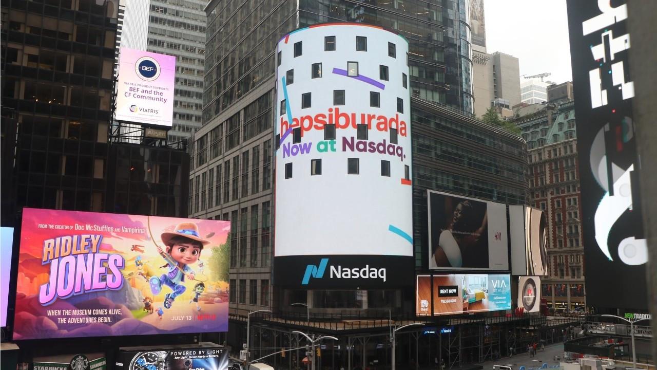 Hepsiburada becomes first ever Turkish Nasdaq IPO