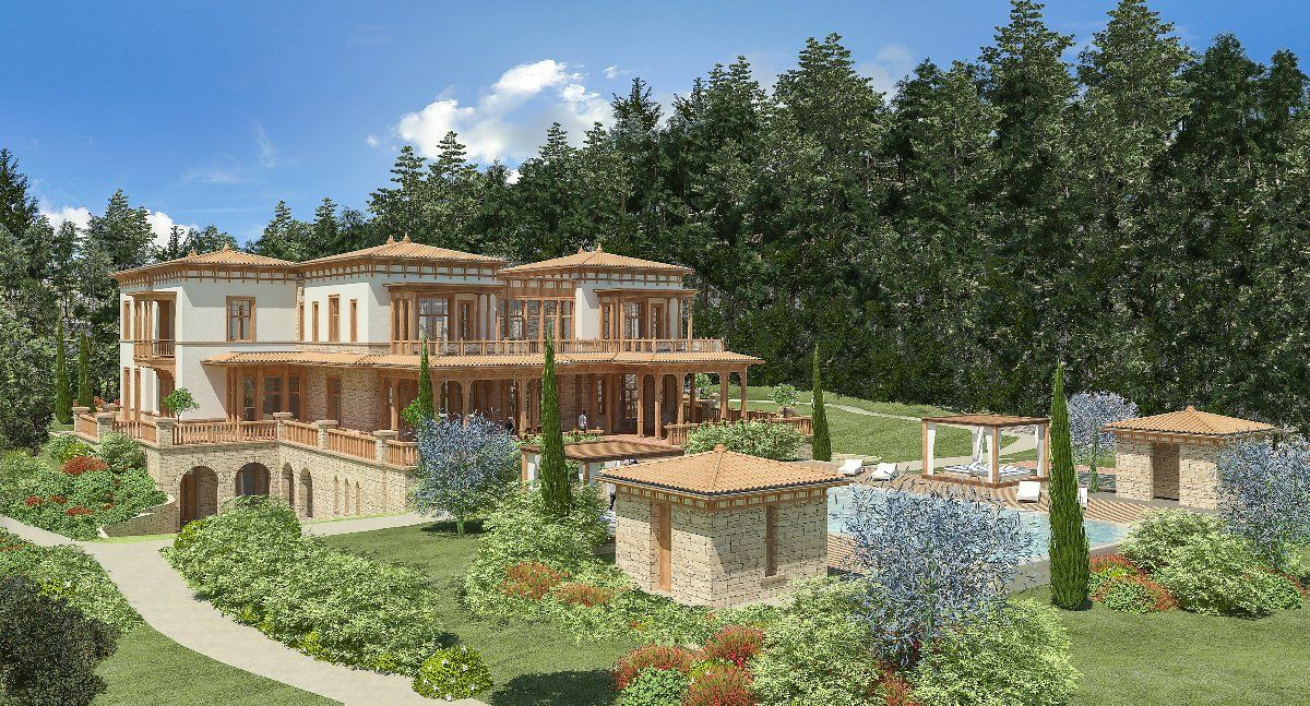 Photos of Erdoğan's extravagant 'summer palace' revealed amid mass poverty - Page 1