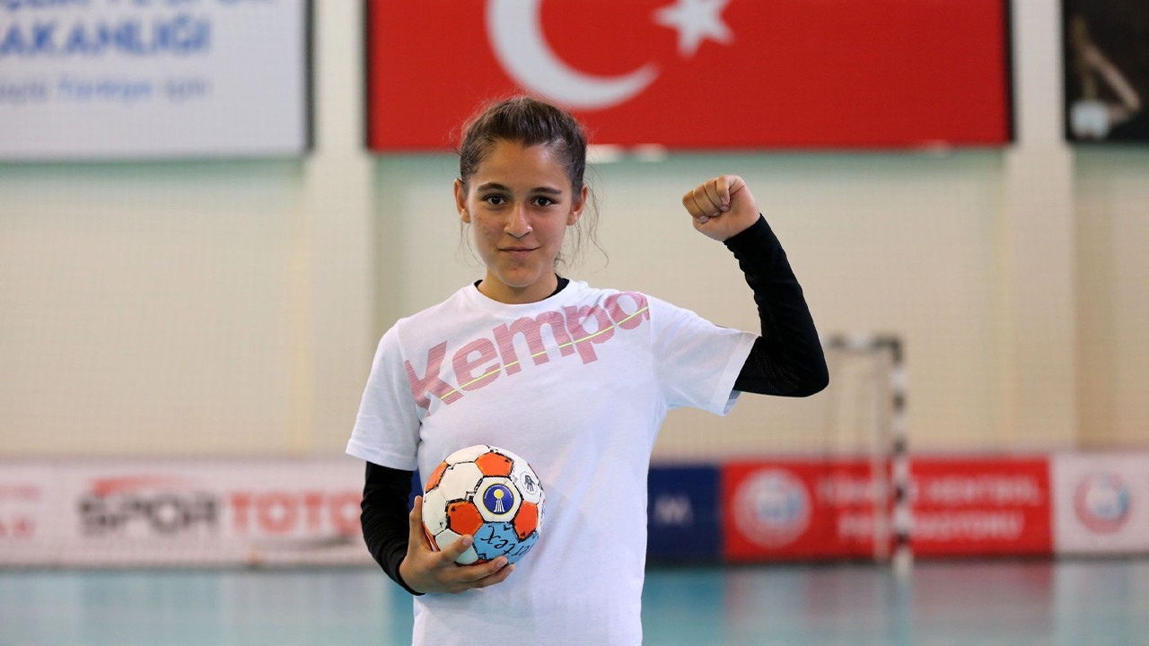 Turkish handball player told she can't wear shorts, play with boys
