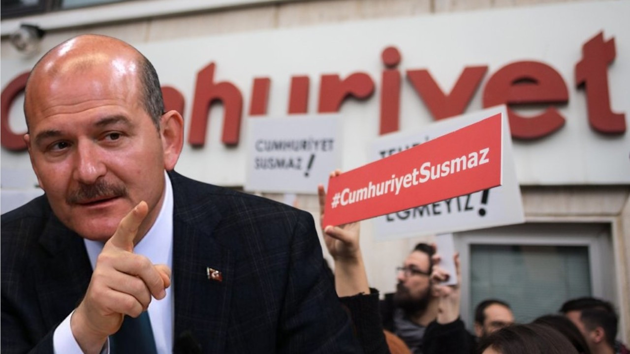 Turkish Journalists' Association tells Soylu to stop oppressing media