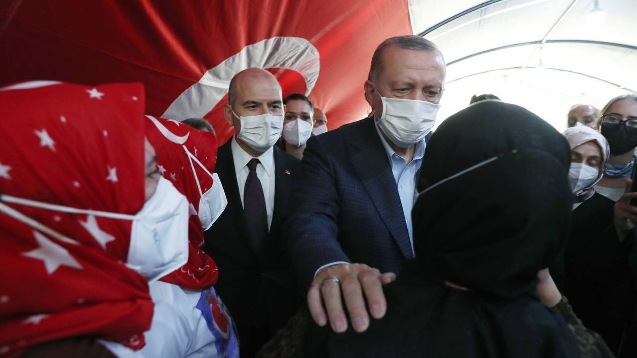 Erdoğan pictured with Soylu for first time since mafia boss' claims