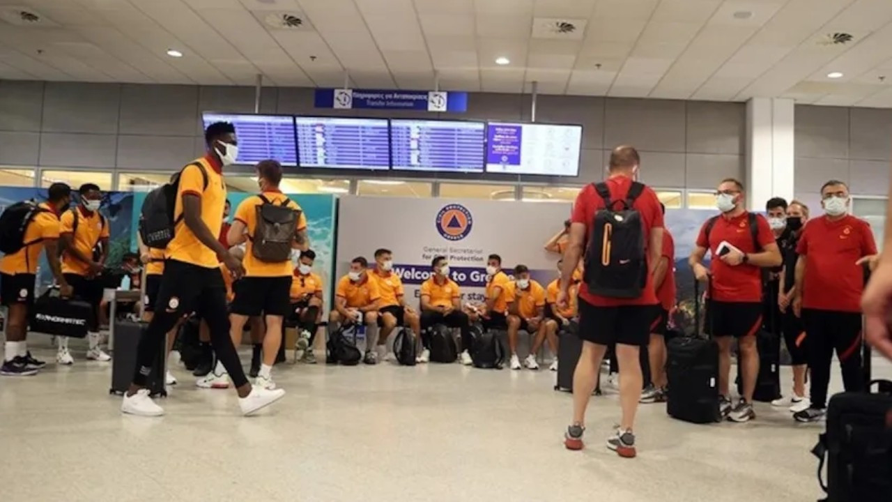 Galatasaray squad returns from Greece after rejection of PCR tests