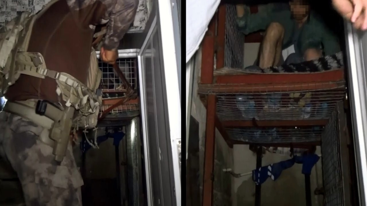 Police save men held in cages by gang in Turkey's south