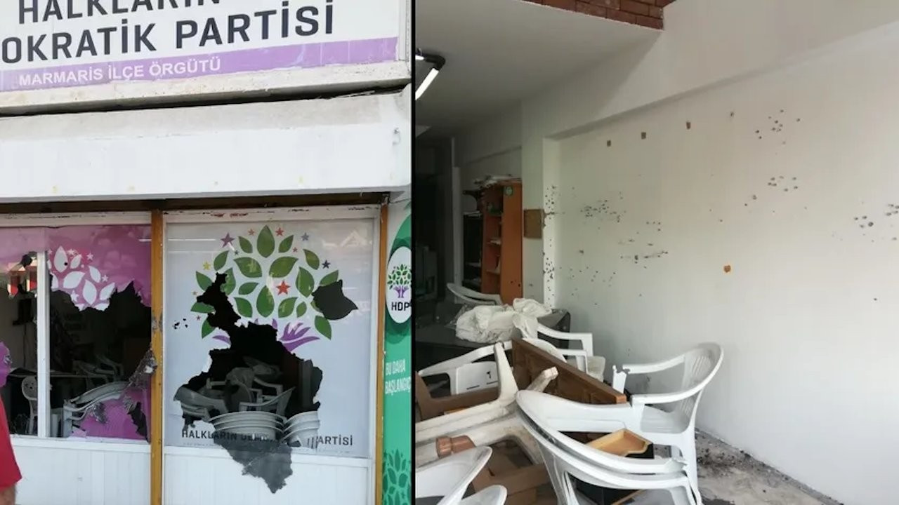 Assailant opens fire on HDP building in Turkey's Marmaris