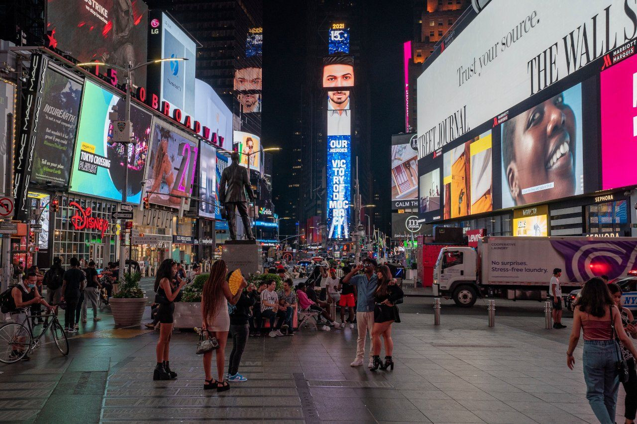 Turkey airs messages on Times Square billboards to mark 2016 coup bid - Page 2