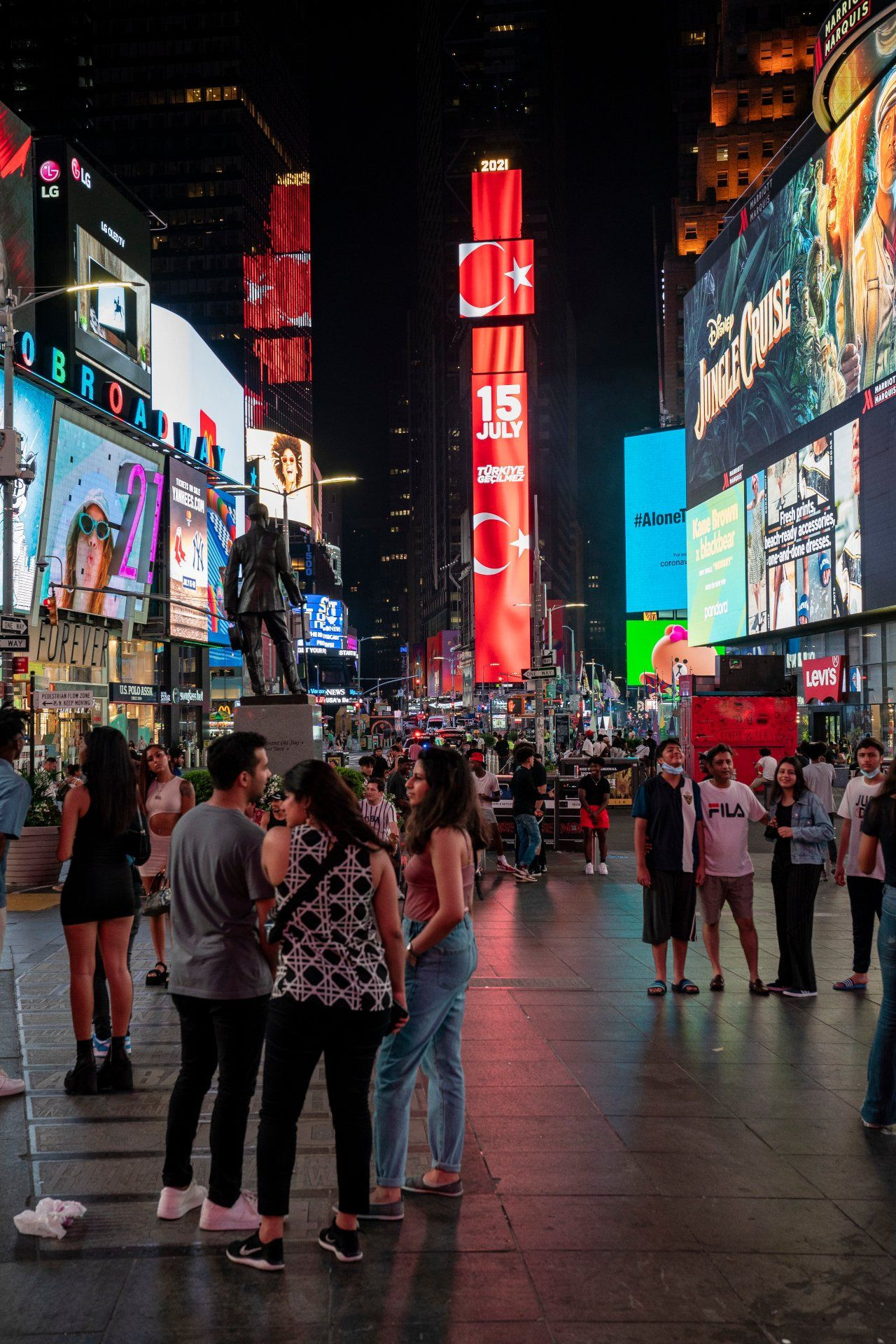 Turkey airs messages on Times Square billboards to mark 2016 coup bid - Page 3