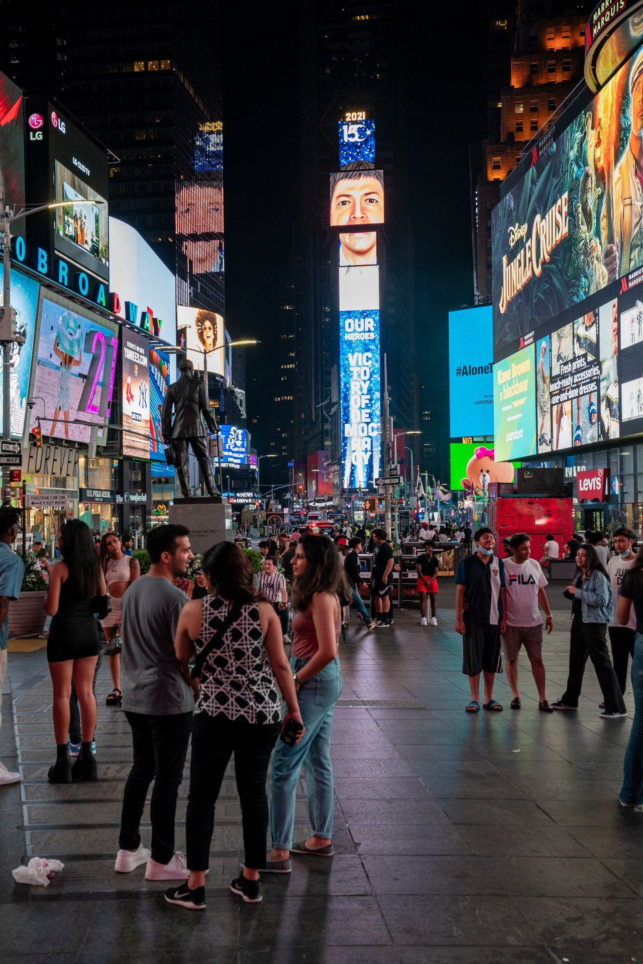 Turkey airs messages on Times Square billboards to mark 2016 coup bid - Page 4