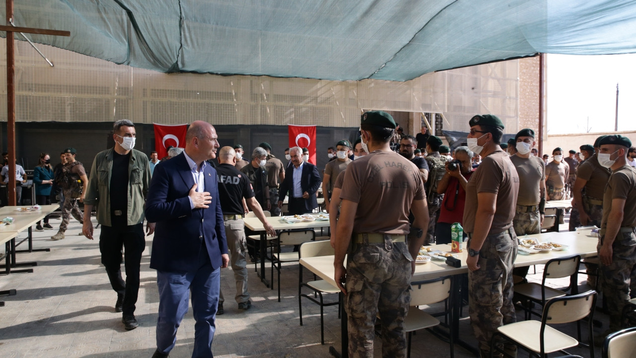 Minister Soylu boasts about death of Turkish security forces in Syria