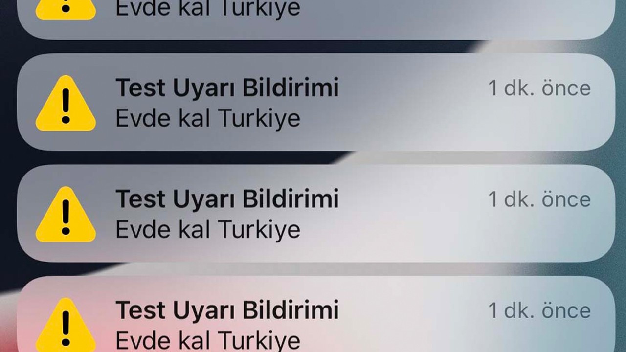Vodafone alarms millions of Turkish users with 'Stay at home' alert