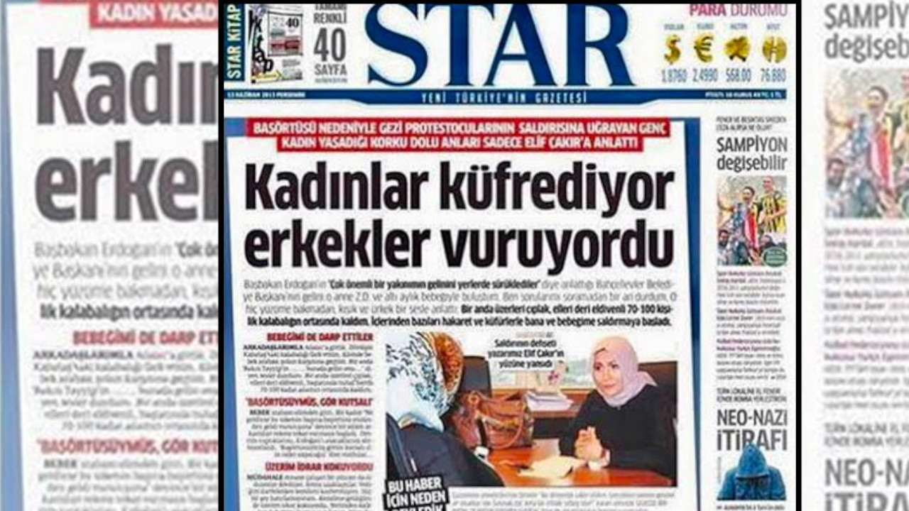 Pro-gov't daily admits to circulating fake news during 2013 Gezi protests