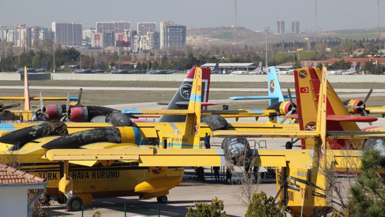 Turkish aviation agency's planes 'can play important role' in firefighting efforts, says pilot