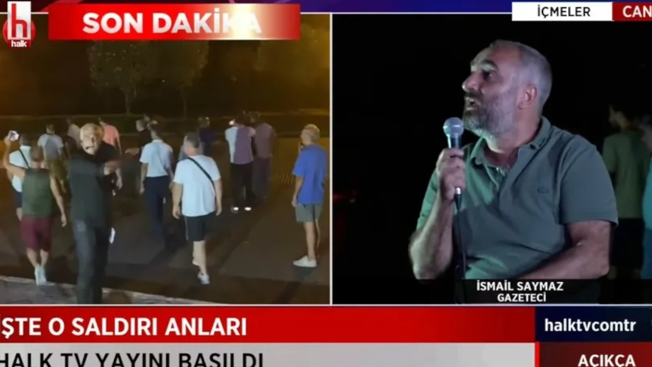 Group attacks Halk TV's live broadcast, prevent crew from filming in fire-stricken Marmaris