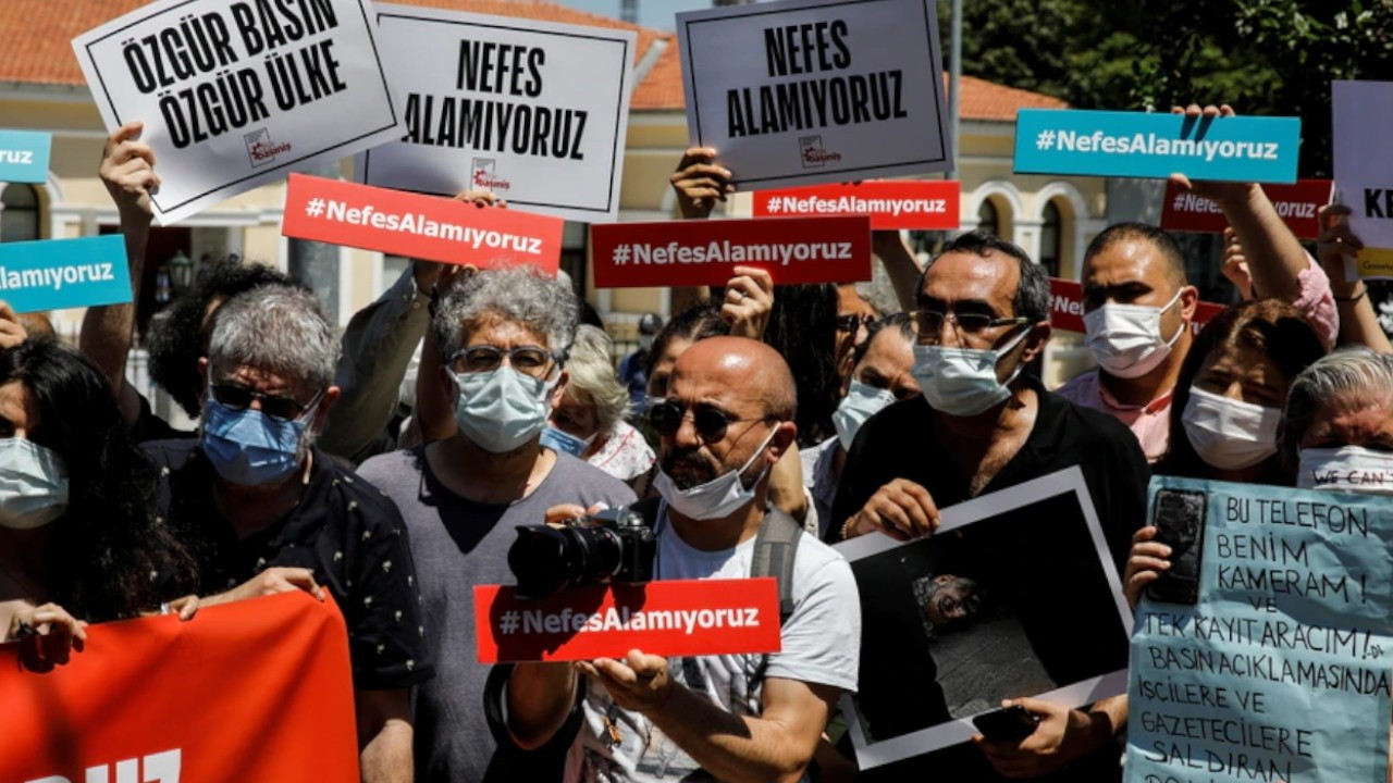 Turkey 'put 179 journalists on trial, detained 16 in three months'